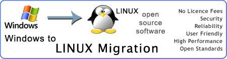 مهاجرت از ویندوز به لینوکس