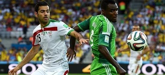 بازی ایران و نیجریه