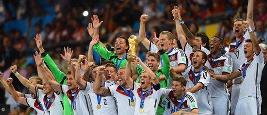 قهرمانی تیم ملی آلمان ۲۰۱۴