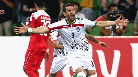 خوشحالی حاج صفی بعد از گل جام ملت ها