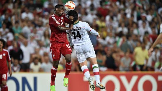 بازی ایران و امارات جام ملت ها ۲۰۱۵